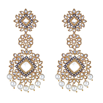 Aviva Clear Drop Earrings