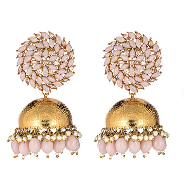 Maile Earrings in Pink