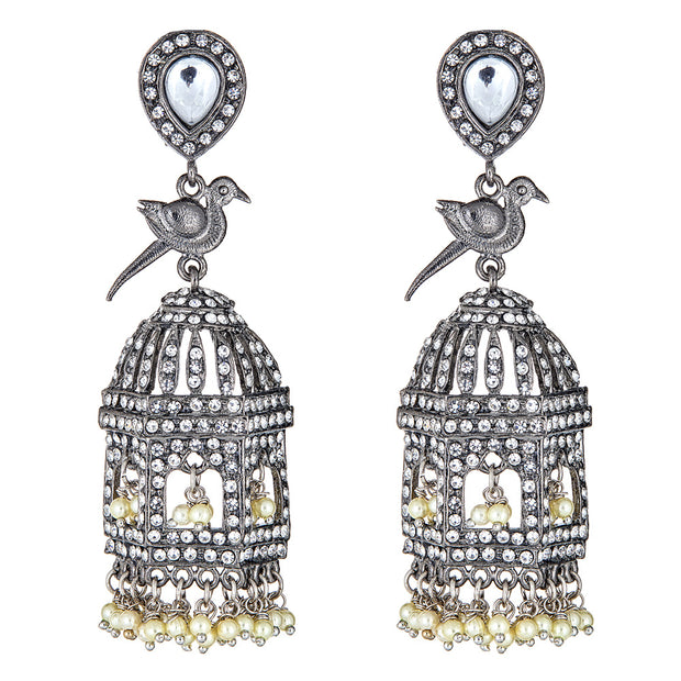 Yara BirdCage Earrings