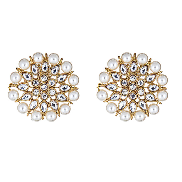 Evie Pearl Stud Earrings