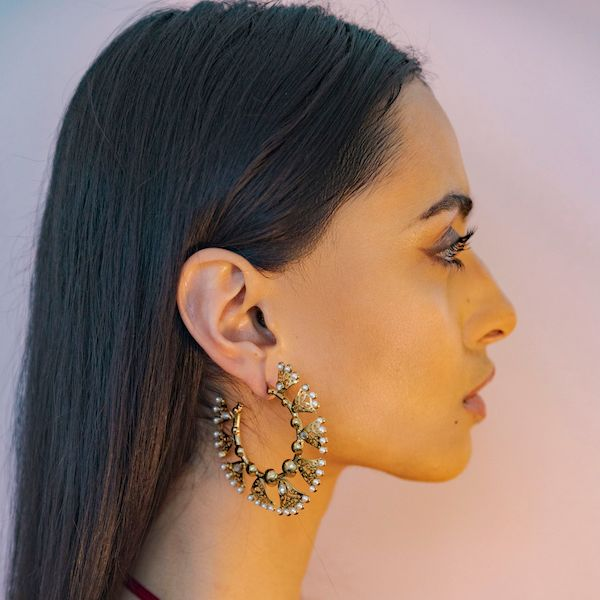 Kamilah Earrings in Gold