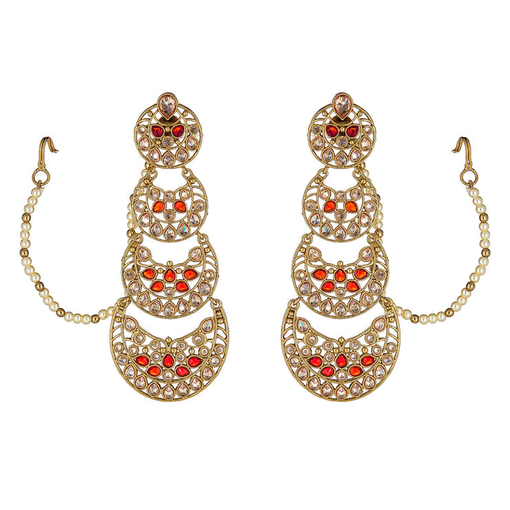 Samira Earrings in Gold