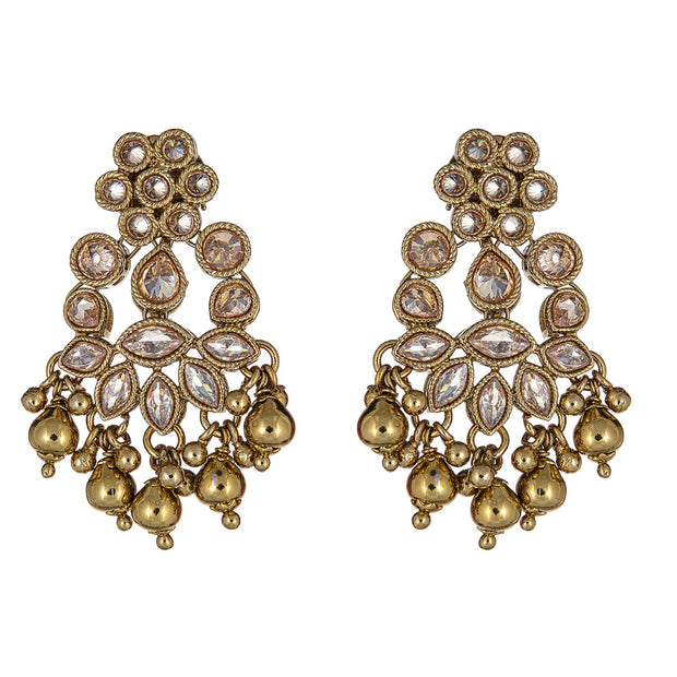 Asmita Earrings in Gold