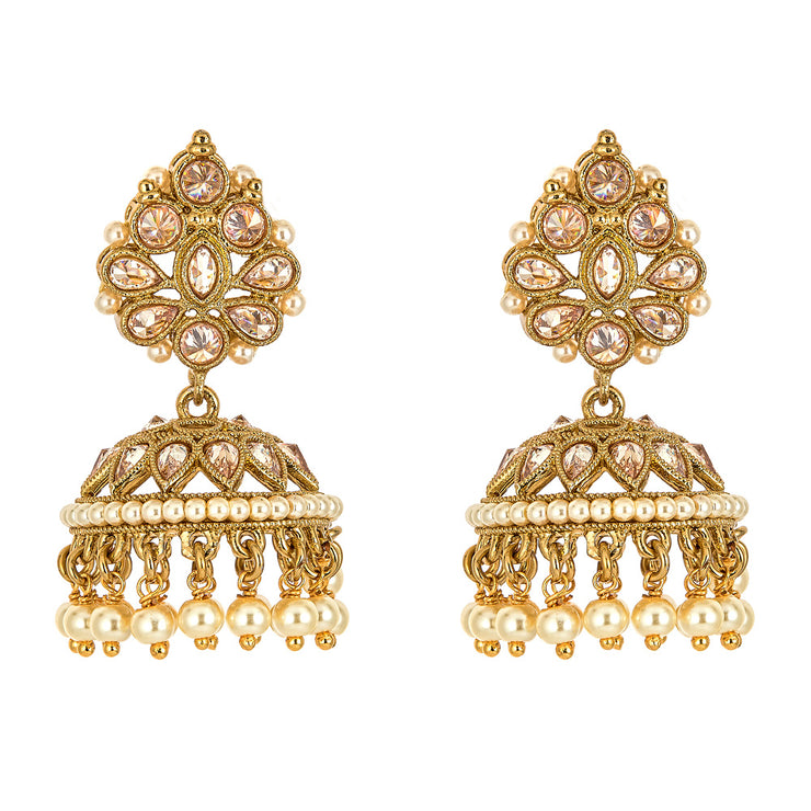 Izma Earrings in Gold