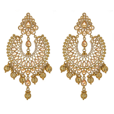 Sanika Earrings in Gold