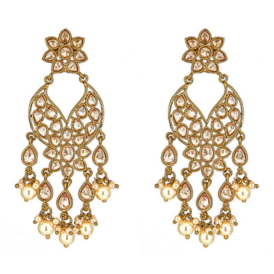 Hayat Earrings in Champagne