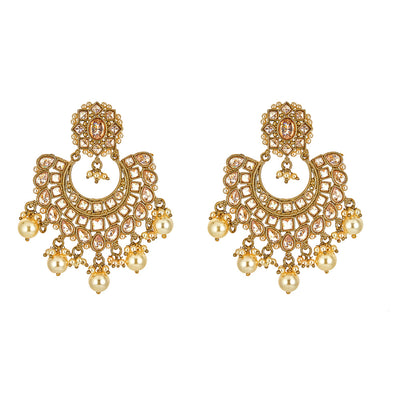 Nirva Champagne Earrings