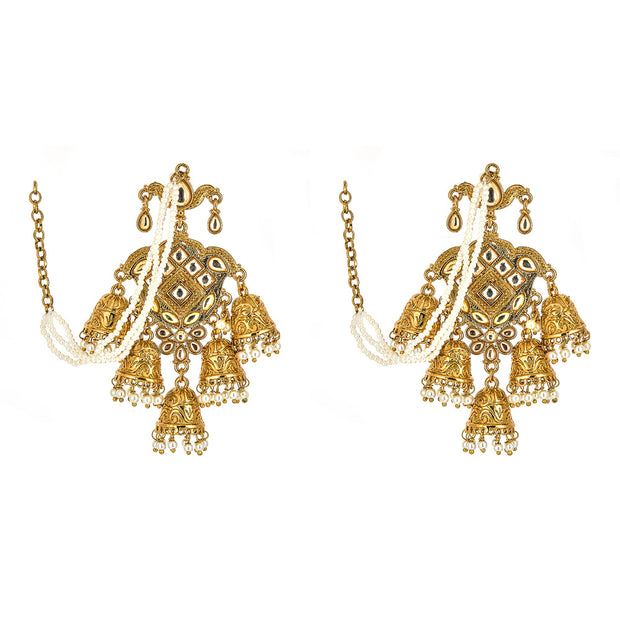 Dvita Earrings in Gold