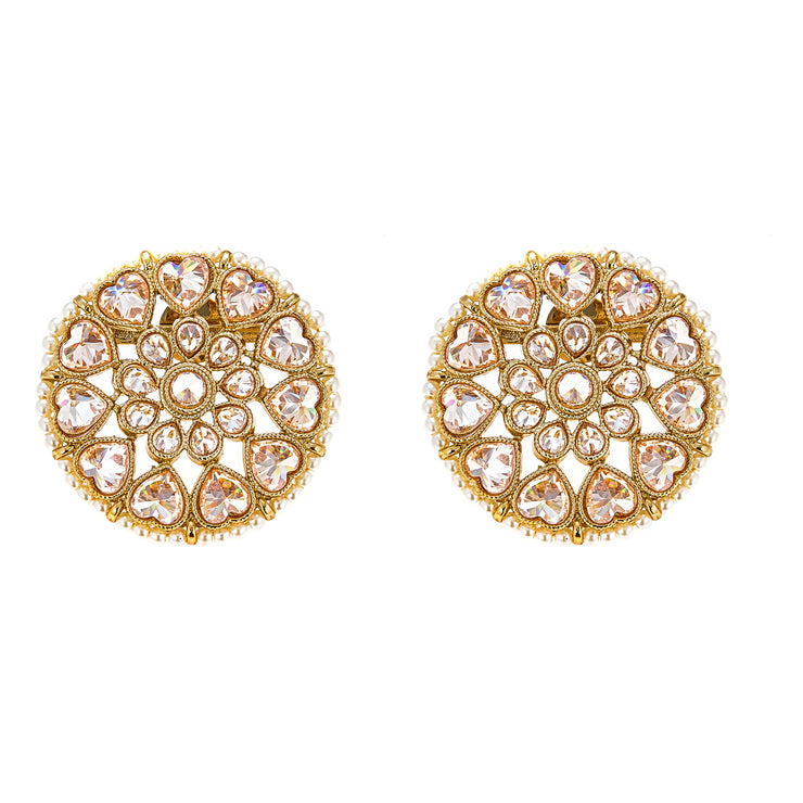 Edha Earrings in Gold