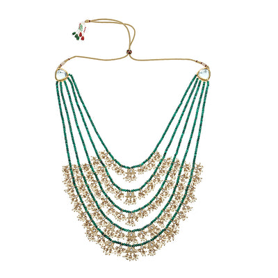 Imani Necklace in Green