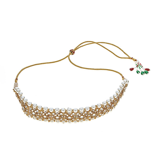 Sanaa Pearl Choker Necklace