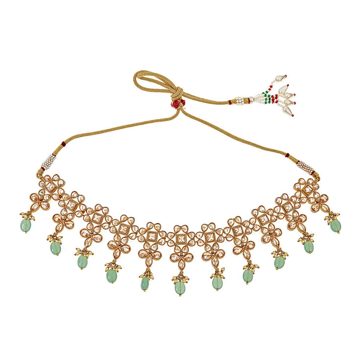 Adiva Green Necklace