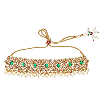 Rashi Emerald Choker Necklace