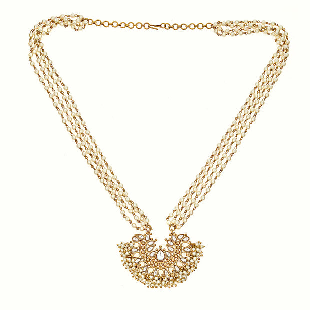 Mini Gatsby Pearly Necklace