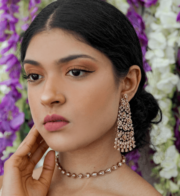 Abeer Polki Choker Necklace