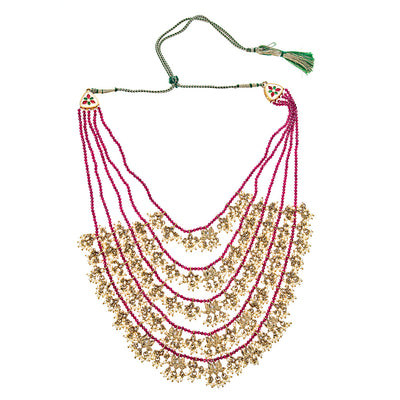 Imani Necklace in Ruby