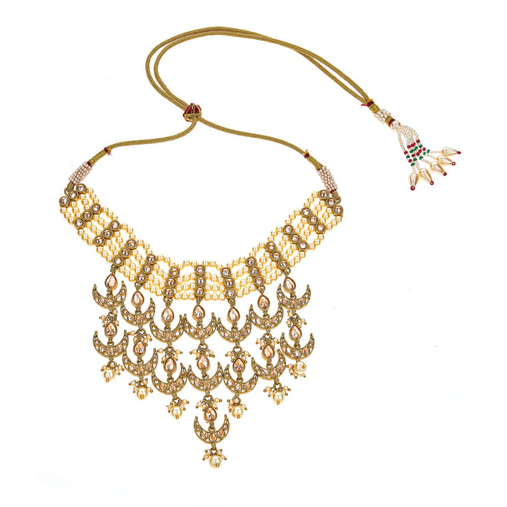 Manisha Necklace in Gold