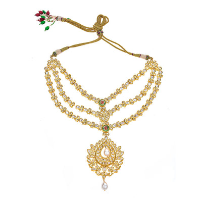 Aamani Necklace in Gold