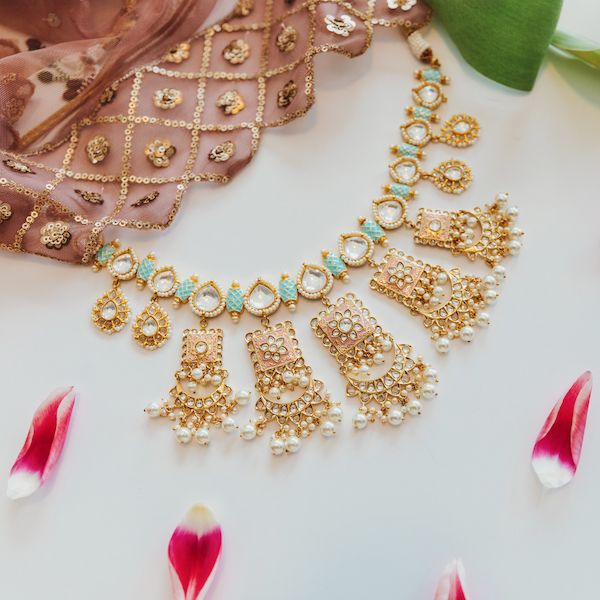 Raaina Necklace in Gold