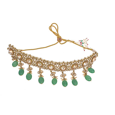 Maya Choker Necklace in Emerald