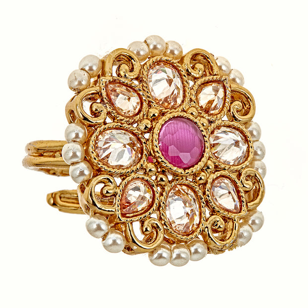Anika Ring in Ruby Red
