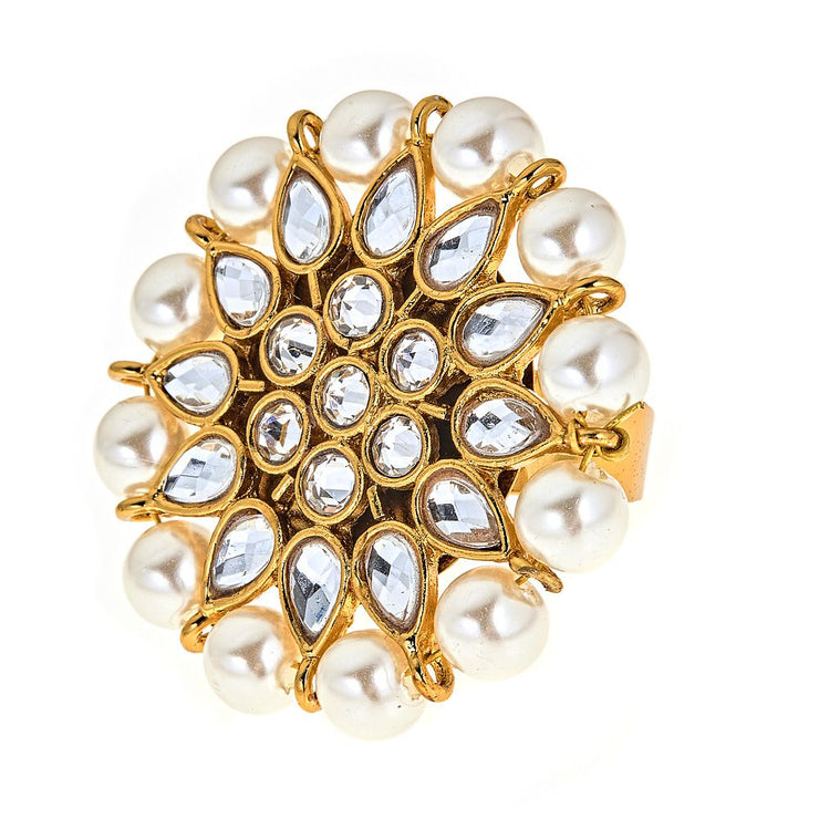 Evie Pearly Ring