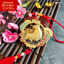 Load image into Gallery viewer, CNY 2021 Golden Ox Auspicious Collectible Medal