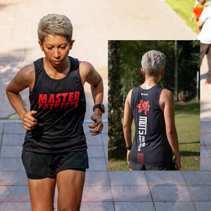 Premium Running Singlet - Master Of The Streets