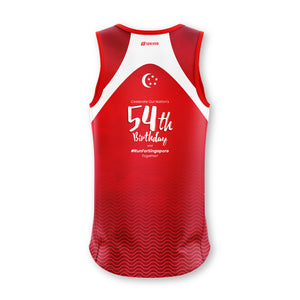 Run For Singapore 2019 Running Singlet (1st Edition)