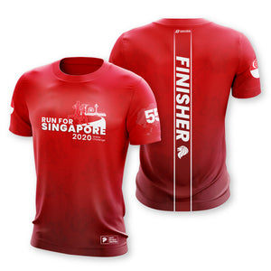 Run For Singapore 2020 5.5KM Finisher T-Shirt