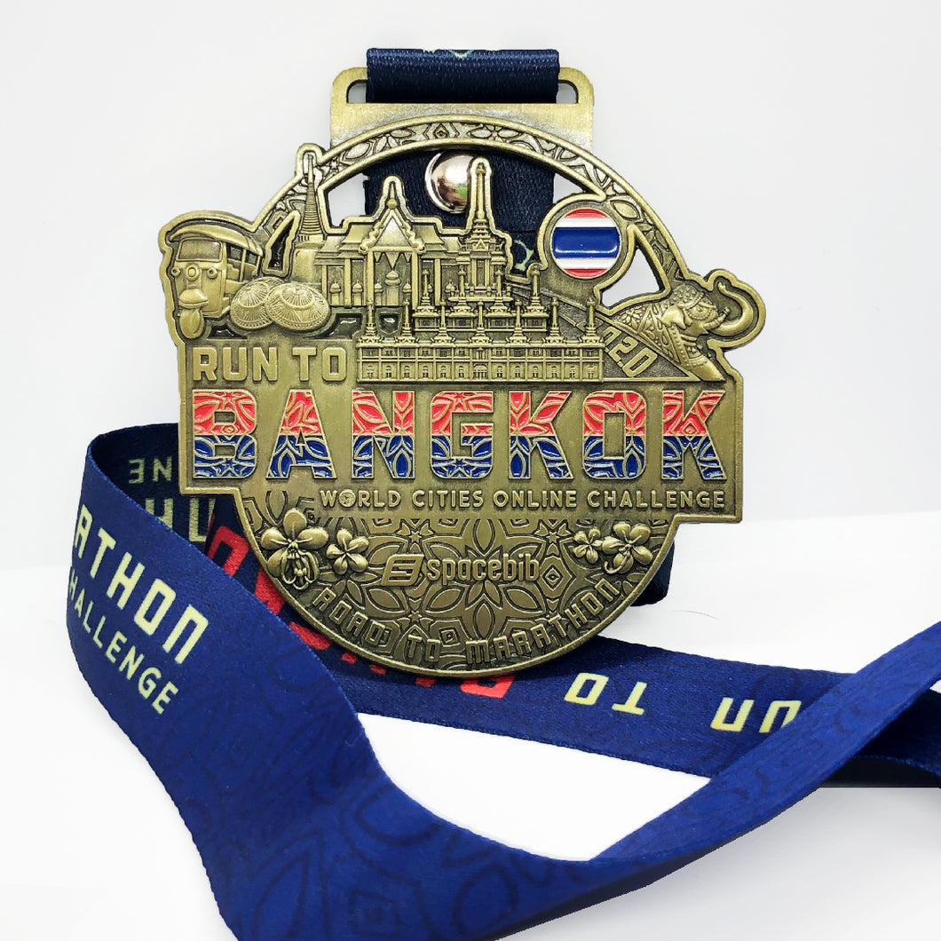 Run To Bangkok™ 2020 Collectible Medal