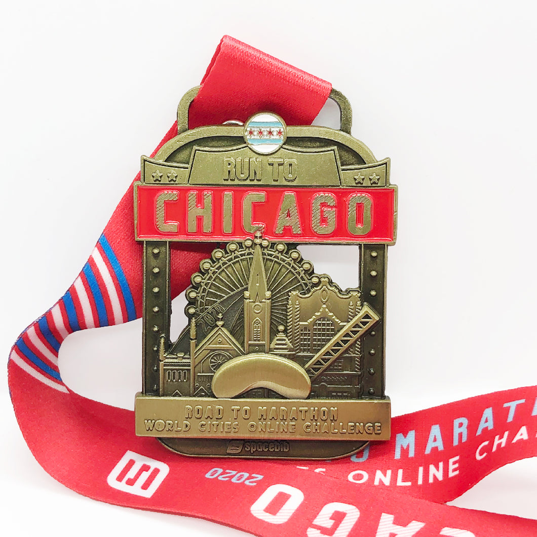 Run To Chicago™ 2020 Collectible Medal