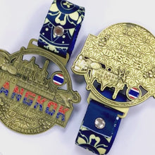 Load and play video in Gallery viewer, Run To Bangkok™ 2020 Collectible Medal