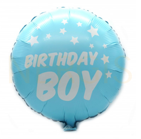 "Kinderparty Folienballon ""Boy"" blau"