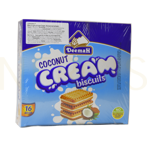 Deemah Cream Bisquits Kokos 16 St.