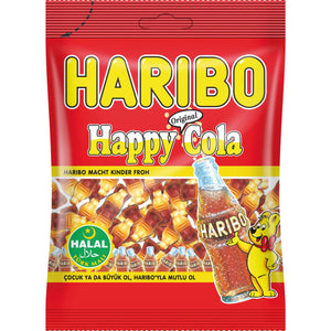 Haribo Happy Cola Halal 100g MHD 10/2020