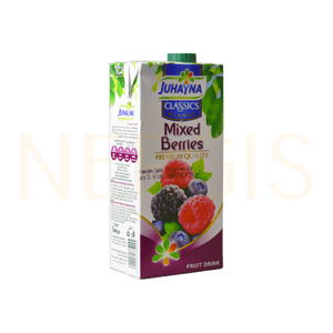 Juhayna Nektar Mixed Berries 1l MHD 15.09.2020 - NERGIS Warenhandel