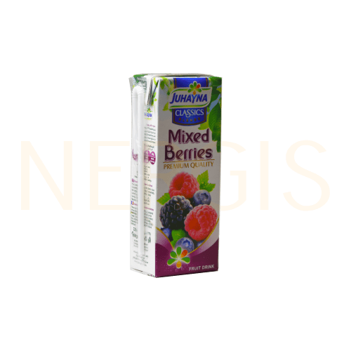 Juhayna Nektar Mixed Berries 235ml MHD 15.09.2020 - NERGIS Warenhandel