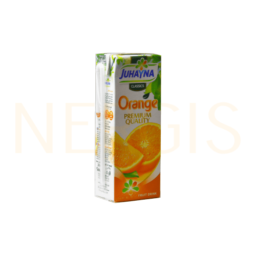Juhayna Nektar Orange 235ml MHD 15.09.2020 - NERGIS Warenhandel