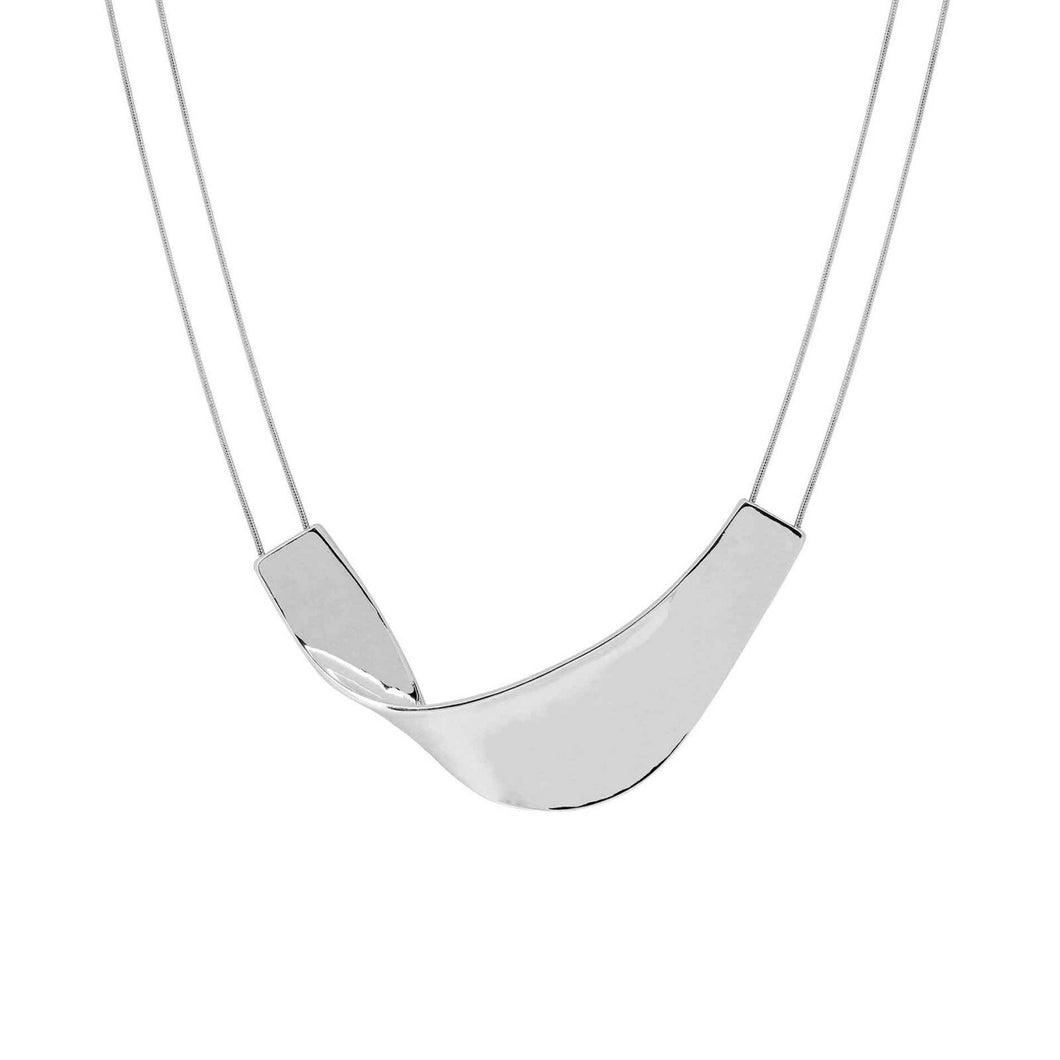 Wave Silver Necklace