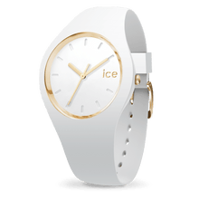 Load image into Gallery viewer, Ice Glam Medium (White/Gold)