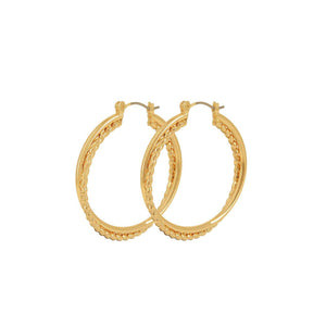 Indian Summer Gold Earrings