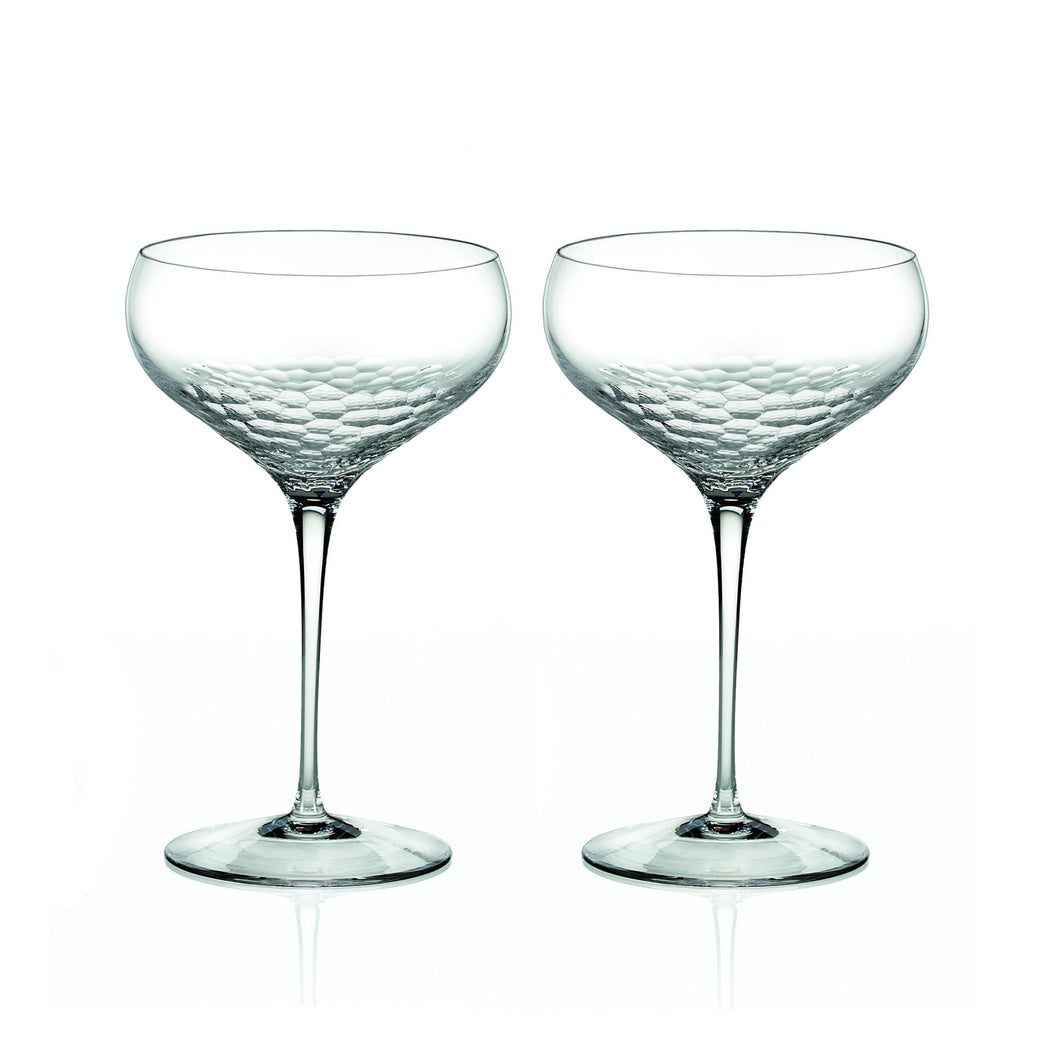 Vera Wang 'Sequin' Champagne Saucers