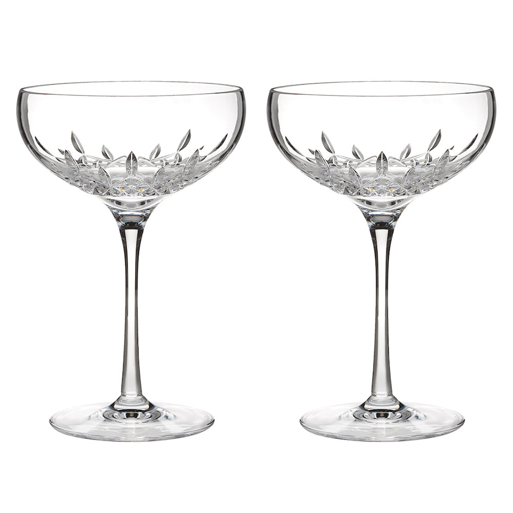 Lismore Champagne Saucers