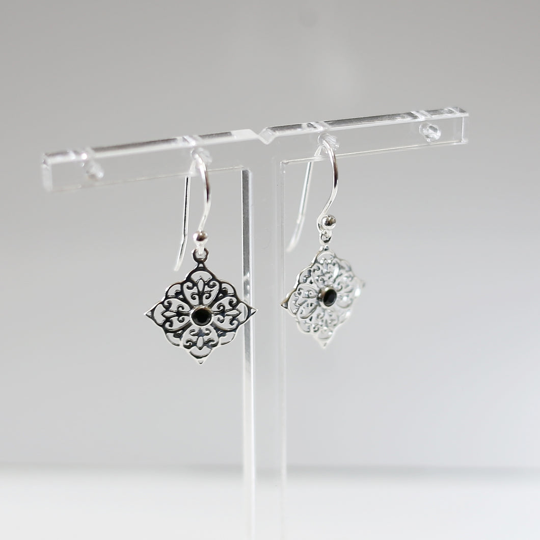 Filigree and Enamel Drops