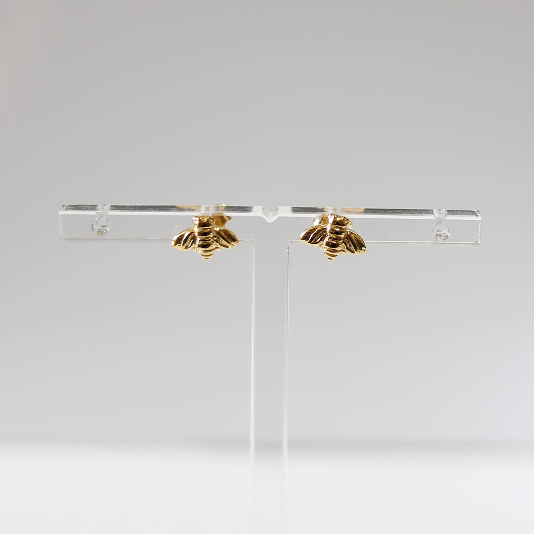 Bee Earrings (Gold)