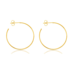 Open Hoop Earrings