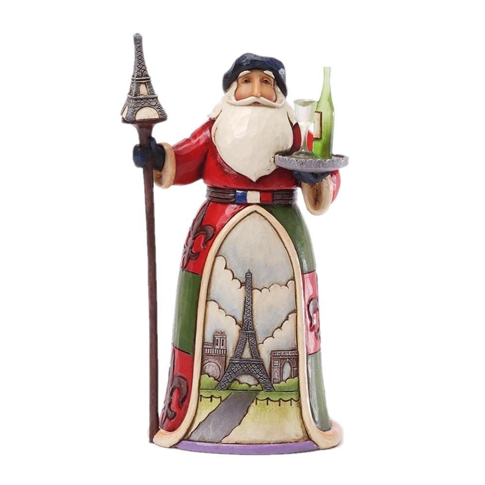 French Santa Figurine