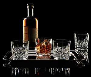 Lismore Double Old Fashioned Set of Four
