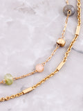 Gemstone Anklet Anarchy Street Gold - Details